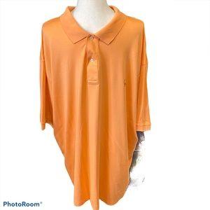 Polo Ralph Lauren Polo 100% Cotton Peach Polo,3XLT